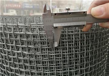 热镀锌白钢轧花网